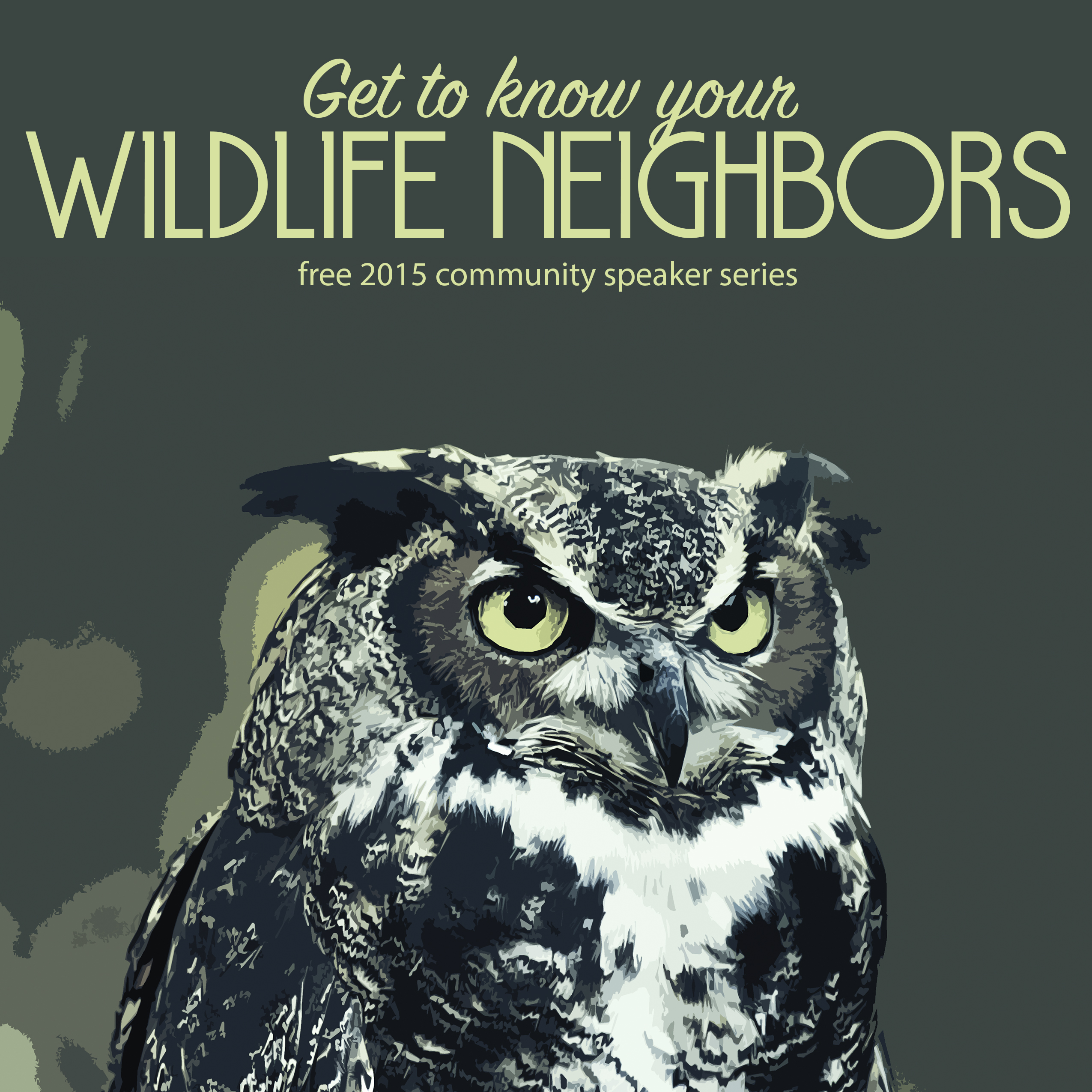 Wildlife Speaker Series Posters