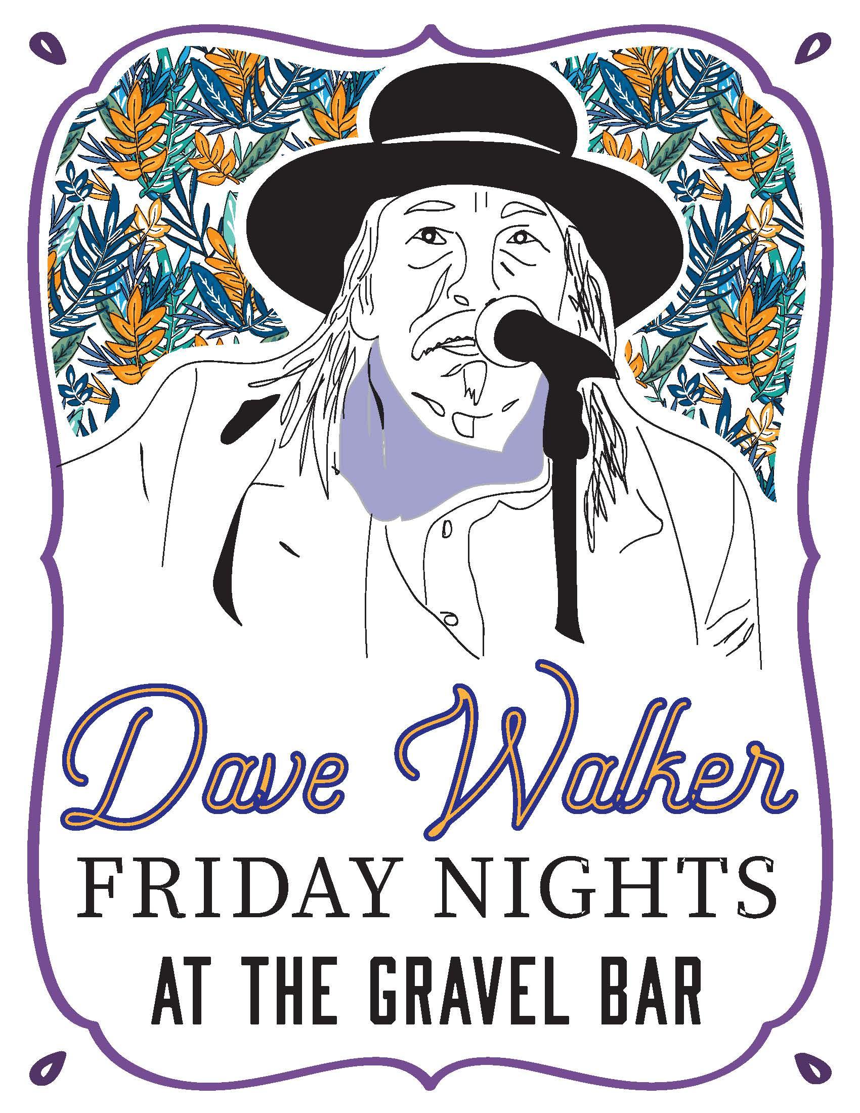 Dave Walker Winter Fridays Poster