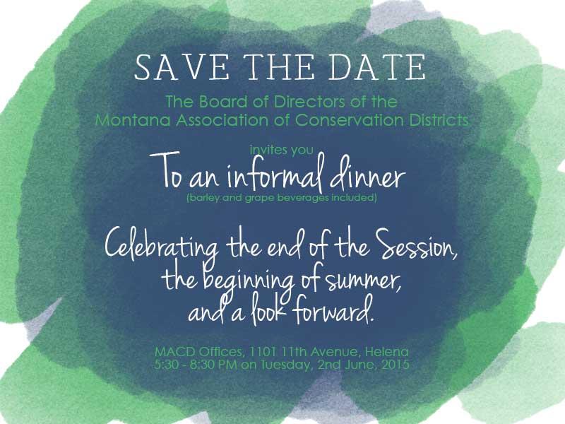 MACD Dinner Invitations