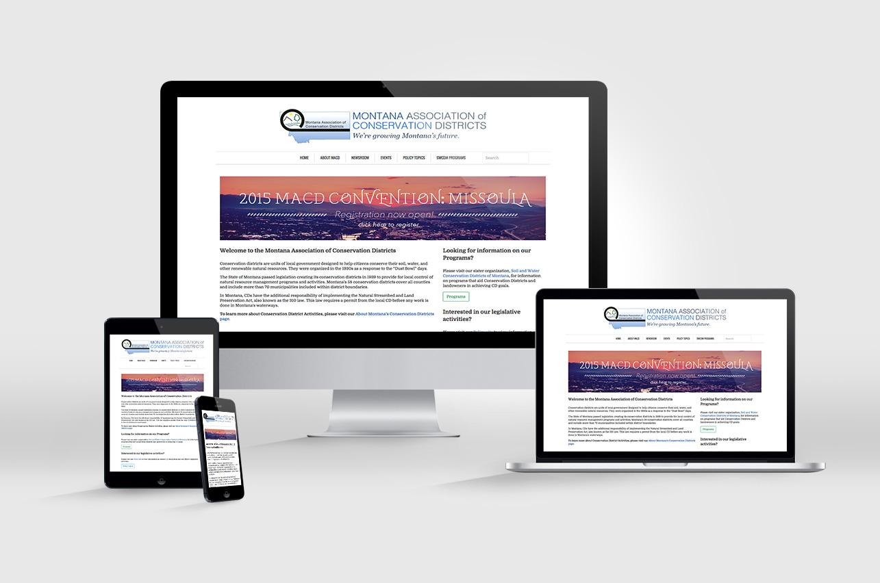 MACD Website Redesign