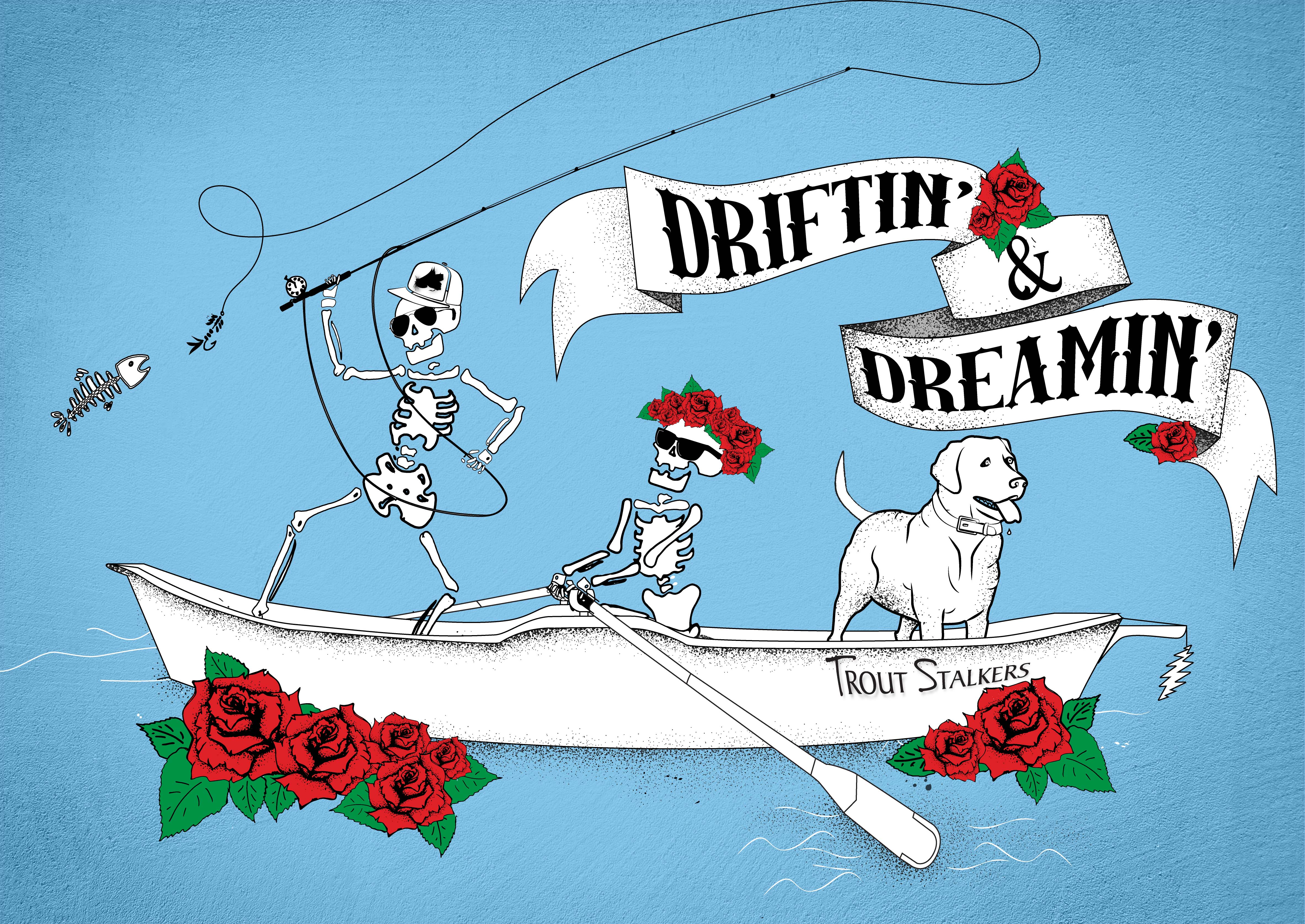 Driftin & Dreamin T Shirt
